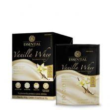 Vanilla Whey - 15 Sachês 30g - Essential Nutrition