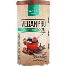 VeganPro - 550g Fondue de Chocolate com Morango - Nutrify