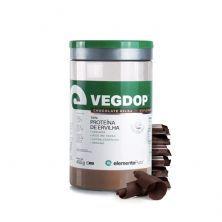 VegDop Proteína de Ervilha - 450g Chocolate Belga - ElementoPuro
