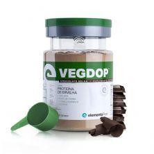 VegDop Proteína de Ervilha - 900g Chocolate Belga - ElementoPuro