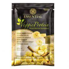 Veggie Protein - 1 Sachê 33g Banana com Canela - Essential Nutrition*** Data Venc. 30/05/2021