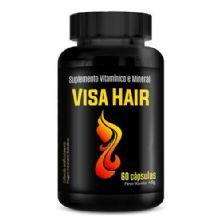Visa Hair - 60 Cápsulas - Intlab*** Data Venc. 30/12/2019