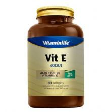 Vit E 400UI - 30 Softgels - Vitaminlife