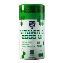 Vitamin D 2000 - 60 Cápsulas - Under Labz