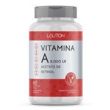 Vitamina A 8.000UI Acetato de Retinol - 60 Cápsulas - Lauton Nutrition