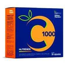 Vitamina C 1000mg - 30 Cápsulas - Nutrends