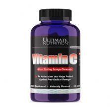 Vitamina C - 120 Tabletes Laranja - Ultimate  Nutrition