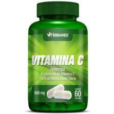 Vitamina C - 60 Cápsulas - Herbamed