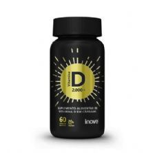 Vitamina D 2.000 UI - 60 Cápsulas Softgel - Inove Nutrition