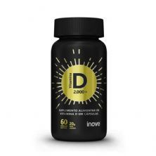 Vitamina D 2.000 UI - 60 Cápsulas Softgel - Inove Nutrition