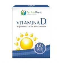 Vitamina D - 60 Cápsulas - Nutreflora