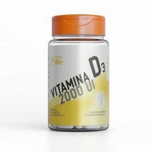 Vitamina D3 2000UI - 60 Cápsulas - Smart Life