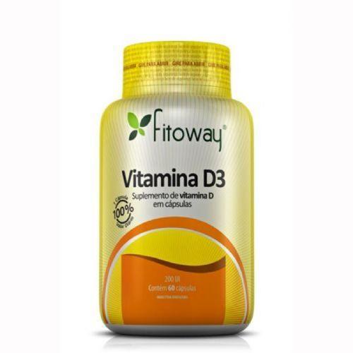 Vitamina D3 - 60 Cápsulas - Fitoway no Atacado