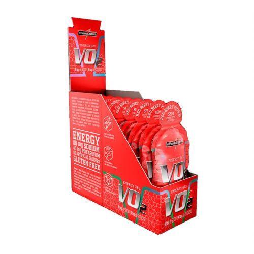 Vo2 Energy Gel - 10 Sachês 30g Frutas Vermelhas - IntegralMédica no Atacado