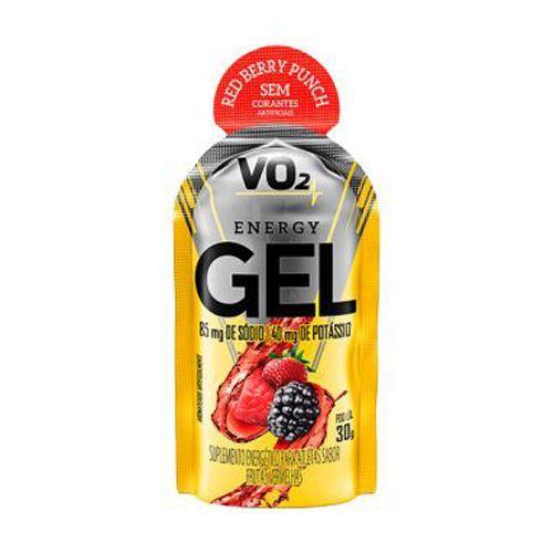 Vo2 Energy Gel - 1 sachê de 30g Frutas Vermelhas - Integralmedica no Atacado