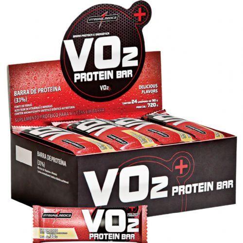 VO2 PROTEIN BAR Coco - 24 unidades de 30g - Integralmédica