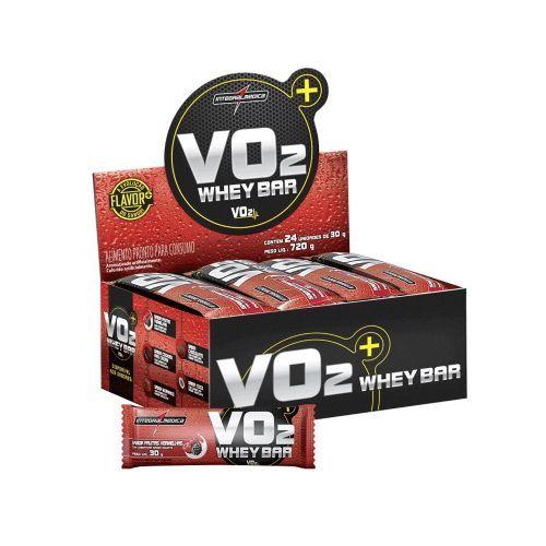 VO2 PROTEIN BAR Pão de Mel - 24 unidades de 30g - Integralmédica