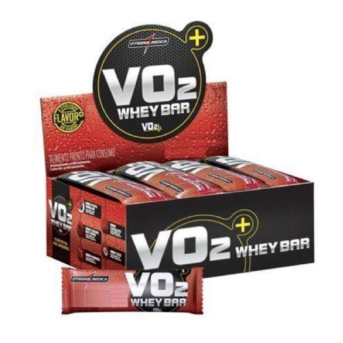 VO2 Whey Bar - 12 Unidades 30g Côco - IntegralMédica no Atacado