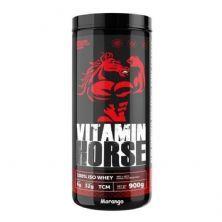 Whey 100% Iso - 900g Morango - Vitamin Horse