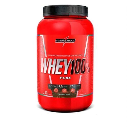 Whey 100% Pure - 907g Cappuccino - IntegralMédica no Atacado