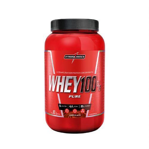 Whey 100% Pure - 907g Chocolate - IntegralMédica no Atacado