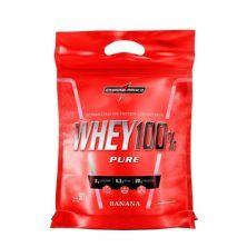 Whey 100% Pure - 907g Refil Banana - IntegralMédica