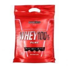 Whey 100% Pure - 907g Refil Baunilha - IntegralMédica