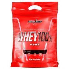 Whey 100% Pure - 907g Refil Chocolate - IntegralMédica