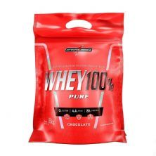 Whey 100% Pure - 907g Refil Chocolate - IntegralMédica