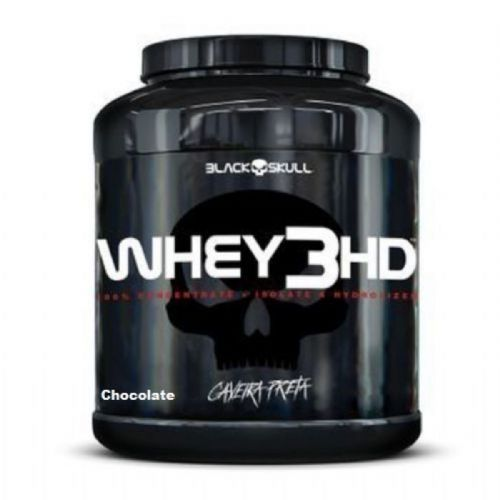 Whey 3HD - 1800g Chocolate - Black Skull no Atacado