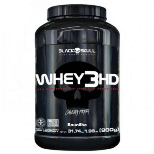 Whey 3HD - 900g Baunilha - Black Skull no Atacado