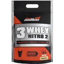 Whey 3W Nitro2 - 1800g Refil Baunilha - New Millen*** Data Venc. 24/10/2020