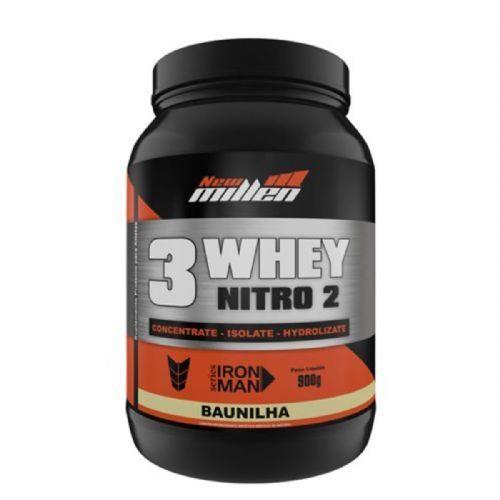 Whey 3W Nitro2 - 900g Baunilha - New Millen no Atacado