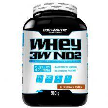Whey 3W NO2 - 900g Chocolate Suíço - Body Nutry