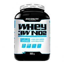 Whey 3W NO2 - 900g Milk Shake de Morango - Body Nutry