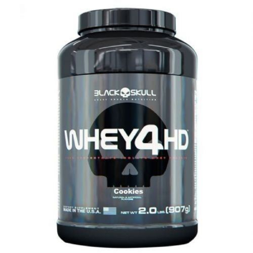 Whey 4 HD - 907g Cookies & Cream - Black Skull no Atacado
