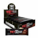 Whey Bar Darkness - 8 Unidades 90g Chocolate e Coco c/ Chocolate Chip - IntegralMédica