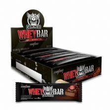 Whey Bar Darkness - 8 Unidades 90g Doce de Leite com Chocolate Chip - IntegralMédica