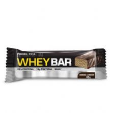 Whey Bar High Protein - 1 unidade Cookies e Cream - Probiótica