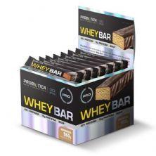Whey Bar High Protein - 24 Unidades 40g Amendoin - Probiótica