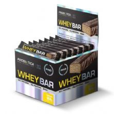 Whey Bar High Protein - 24 Unidades 40g Banana - Probiótica*** Data Venc. 23/12/2018
