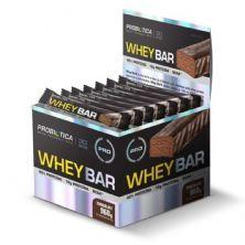Whey Bar High Protein - 24 Unidades 40g Chocolate - Probiótica