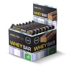 Whey Bar High Protein - 24 Unidades 40g Côco - Probiótica