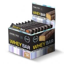 Whey Bar High Protein - 24 Unidades 40g Amendoin - Probiótica