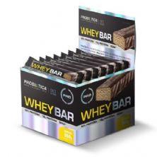 Whey Bar High Protein - 24 Unidades 40g Banana - Probiótica