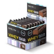 Whey Bar High Protein - 24 Unidades 40g Chocolate - Probiótica
