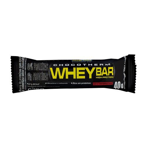 c4a1f4107 Whey Bar High Protein Chocolate - 1 barra de 40g - Probiótica - www ...