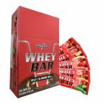 Whey Bar Protein - 24 unidades de 40g Morango - Integralmédica no Atacado