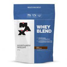 Whey Blend - 2000g Refil Chocolate - Max Titanium