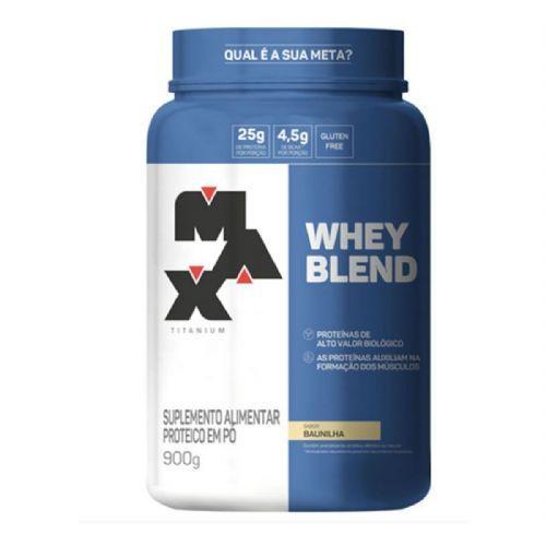 Whey Blend - 900g Baunilha - Max Titanium no Atacado